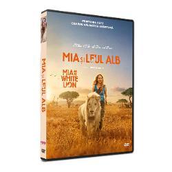 Mia si Leul Alb -DVD imagine librarie clb