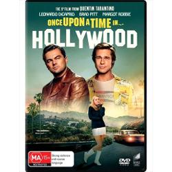 ONCE UPON A TIME IN HOLLYWOOD (2019) DVD imagine librarie clb