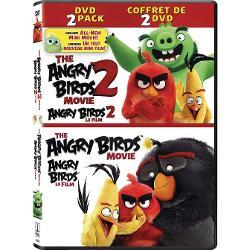 ANGRY BIRDS: THE MOVIE & ANGRY BIRDS 2: THE MOVIE DVD imagine librarie clb