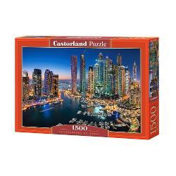 Puzzle de 1500 de piese cuZgarie Norii DubaiuluiCutia are dimensiunile de 35×25×5cm iar puzzle-ul are 68×47cm Pentru cei cu varste peste 9 ani