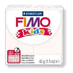 Plastelina fimo kids 42g alb STH-8030-0 imagine librarie clb