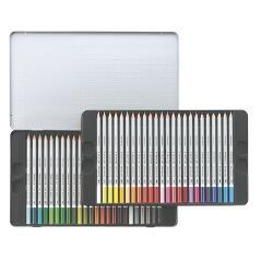Creioane Karat Aquarell 48cul /set cutie metal STH-125-M48