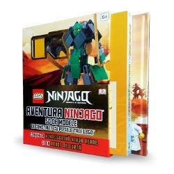 Lego Ninjago Aventura Ninjago 50 de modele de construit cu piesele tale Lego