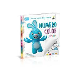 """""""NumeroColor Junior""""se adreseaz&259; copiilor cu vârsta între 2 ani jum&259;tate &537;i 4 ani Desenele nu sunt ascunse în peisaj iar colorarea presupune doarcinci culori"""
