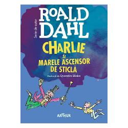 Continuarea romanuluiCharlie &537;i Fabrica de Ciocolat&259;Charlie a câ&351;tigat fabrica de ciocolat&259; a domnului Wonka dar aventurile prin care trece al&259;turi de bizarul personaj &351;i de ciudata sa familie nu sunt nici pe departe încheiateCu to&355;ii sunt pasagerii Marelui Ascensor de Sticl&259; ma&351;in&259;rie care-i va purta într-o fabuloas&259; c&259;l&259;torie prin spa&355;iul cosmic Spre final cei trei