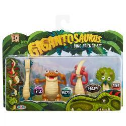 Set 4 figurine gigantosaurus 98617-4L
