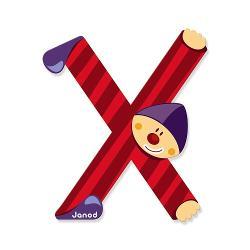 Litera X din lemn este ideal pentru decorarea camerei copilului Este de asemenea un cadou original pentru copilul dumneavoastra sa se familiarizeze cu alfabetul si astfel incepe sa-si scrie primele cuvinteNota- Acest produs este disponibil in mai multe culori- Produsul se vinde individual- Va rugam sa mentionati culoarea dorit in formularul de comanda din campul comentarii- Livrarea culorii dorita se face in functie de stocul