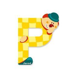 Litera P din lemn este ideal pentru decorarea camerei copilului Este de asemenea un cadou original pentru copilul dumneavoastra sa se familiarizeze cu alfabetul si astfel incepe sa-si scrie primele cuvinteNota- Acest produs este disponibil in mai multe culori- Produsul se vinde individual- Va rugam sa mentionati culoarea dorit in formularul de comanda din campul comentarii- Livrarea culorii dorita se face in functie de stocul