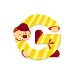 Pentru Baieti FeteVarsta 3 - 4 ani 4 - 5 aniBrand JanodLitera G din lemn este ideal pentru decorarea camerei copilului Este de asemenea un cadou original pentru copilul dumneavoastra sa se familiarizeze cu alfabetul si astfel incepe sa-si scrie primele cuvinteNota- Acest produs este disponibil in mai multe culori- Produsul se vinde individual- Va rugam sa mentionati culoarea dorit in formularul de comanda