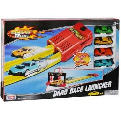 Set de joaca Noriel- Pista lansator si 4 masinute Motormax Drag Race LauncherPentruBaietiVarsta3 - 4 ani 4 - 5 ani 5 - 7 ani 7 - 8 aniTip