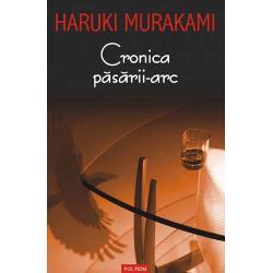 Traducere de Angela HondruIn &8222;Cronica pasarii-arc&8221; Haruki Murakami redeschide o alta usa catre acel tarim de granita dintre vis si realitate pe care ii place atit de mult sa-l exploreze Actiunea romanului debuteaza intr-o suburbie linistita din Tokyo unde tinarul Toru Okada isi duce existenta deloc iesita din comun alaturi de sotia sa O intimplare aparent banala &8211; disparitia motanului familiei &8211; da peste cap viata protagonistului care se vede prins in paienjenisul