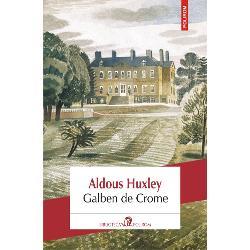 """Galben de Crome primul roman al lui Huxley ap&259;rut în 1921 este o satir&259; social&259; rafinat&259; de un umor subtil care ia în derîdere modele &351;i snobismul """"lumii bune"""" britanice cu toanele pre&355;iozitatea &351;i superficialitatea ei Personajul central al c&259;r&355;ii tîn&259;rul poet Denis Stone sose&351;te într-o vizit&259; la conacul"""