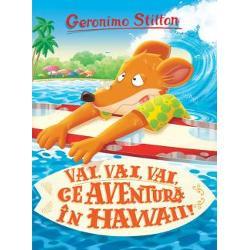De data aceasta Geronimo trebuie sa descopere un mister in Hawaii cineva vrea sa fure un colier foarte pretios Totusi pentru a descoperi hotul Stilton va trebui sa particip la un concurs foarte dificil de surfAsadar in locul unei binemeritate vacante pe o plaja exotica tolanit la soare langa apa cristalina cu o carte buna de citit in mana el intra din nou in tensiunea anchetei