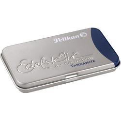 CaracteristiciCutie metalica pentru 6 patroane;Dimensiuni 81 x 49 x 09 cm;Capacitate patron cerneala 14ml;Utilizare cutie pentru orice model de patroane;Culoare cerneala albastru tranzit