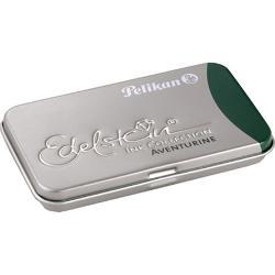 Cutie metalica pentru 6 patroane;Dimensiuni 81 x 49 x 09 cm;Capacitate patron cerneala 14ml;Utilizare cutie pentru orice model de patroane;Culoare cerneala verde aventurin