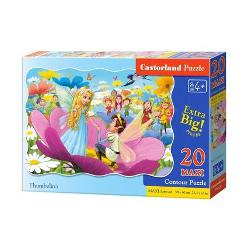 Puzzle de 20 piese MAXI cuDegeticaDimensiunea cutiei 325×225×5 cmDimensiunea puzzle-ului 59×40 cm Recomadat pentru varste de la 4 ani