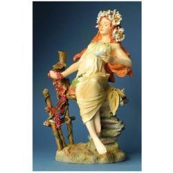 Statueta Mucha Toamna 22cm MUC06