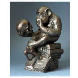 Statueta Rheinhold Maimuta Filozof Darwin 14cm RHE01