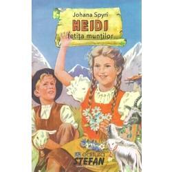 Heidi este povestea bunatatii sufletesti a unei micute fetite Este povestea orfanei Heidi a vietii sale pline de peripetii Crescuta in munti de catre bunicul ei copila este trimisa la oras pentru a-i tine companie unei domnisoare bolnave Odata reintoarsa pe meleagurile atat de dragi ei micuta Heidi alaturi de prietenul ei Peter reusesc sa infaptuiasca lucruri extraordinare