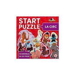 Pasiunea ta pentru jocul de puzzle incepe cu Start Puzzle setul tematic 4 in