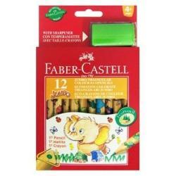 Creioane colorate Eco Jumbo 3 12 culori    forma ergonomica triunghiulara;    creioane colorate cu modele de animale atractive pentru copii    culori luminoase si vibrante;    lungime 125 cm -