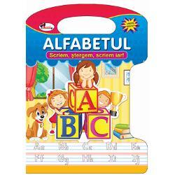 O carte amuzant&259; &537;i educativ&259; ideal&259; pentru a-l ajuta pe copilul t&259;u s&259; fac&259; primii pa&537;i în domeniul scrierii literelor înainte de a merge la &537;coal&259;Micu&539;ul este încurajat s&259; urmeze liniile punctate &537;i înva&539;&259; astfel în mod distractiv scrierea cursiv&259;În plus se va distra cu imaginile frumoase amuzante &537;i viu colorate care