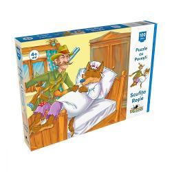 Puzzle Noriel Scufita Rosie 100 piese  Noriel  Pentru FeteVarsta 3 - 4 ani 4 - 5 aniColectie puzzle Povesti