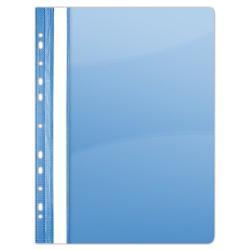 Dosar Plastic Multiperforatii Albastru