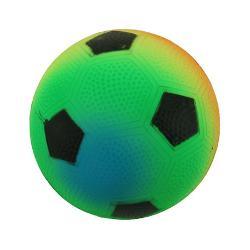 Minge fotbal rainbowMaterial PVC