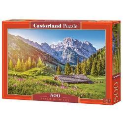 Puzzle cu 500 de piese Dimensiunile cutiei 35 x 25 x 5 cm
