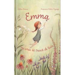 Emma este o feti&539;&259; foarte atent&259; îi place s&259; deseneze f&259;r&259; s&259; dep&259;&537;easc&259; linia a&537;a c&259; atunci când se întâmpl&259; asta este disperat&259;… &536;i totu&537;i se petrece un lucru nemaipomenit se ridic&259; în zbor spre cer unde întâlne&537;te ni&537;te personaje extraordinareO poveste poetic&259; &537;i original&259; despre curiozitatebr