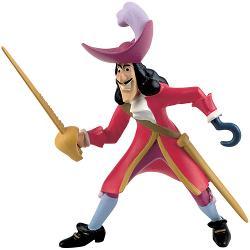 Figurina jucarie reprezentand capitanul Hook din desene animate Peter Pan    Detalii foarte asemanatoare cu cele reale    Figurina are