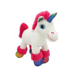 Unicorn alb si roz - jucarie din plus cu sunet 22 cm GT55665-2