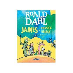 Un uria&351; rinocer sc&259;pat de la Gr&259;dina Zoologic&259; i-a mâncat pe p&259;rin&355;ii lui James într-o clip&259; &350;i cum o nenorocire nu vine niciodat&259; singur&259; James este trimis s&259; locuiasc&259; împreun&259; cu îngrozitoarele sale m&259;tu&351;i Sponge &351;i SpikerCurând îns&259; în via&355;a b&259;iatului se va petrece un lucru minunat Cu ajutorul câtorva limbu&355;e fermecate de