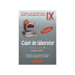 Informatica - caiet de laborator IX - real