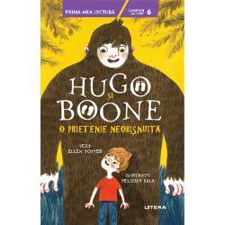 Hugo este un pui de Bigfoot care &238;&537;i dore&537;te s&259; &238;nt&226;lneasc&259; o fiin&539;&259; uman&259; Boone este un pui de om care viseaz&259; s&259; &238;nt&226;lneasc&259; un Bigfoot sau un Ogopogo sau m&259;car un Zb&226;nc cu Nas Turtit &8211; oricare dintre creaturile misterioase de dincolo de P&259;durea de Miaz&259;noapteC&226;nd se cunosc &238;n sf&226;r&537;it Hugo &537;i Boone leag&259; cea mai neobi&537;nuit&259; prietenie &537;i