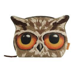 Portofel brodat mare Book OwlsO solutie de pastrare frumoasa perfecta pentru orice geanta sau dulapior Un portofel incantator pentru a-ti tine cosmeticele sau alte accesorii si obiecte micuteDimensiuni 16x14x7 cm
