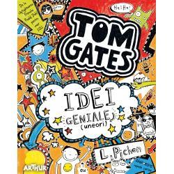 De la câ&351;tig&259;toarea Red House Childrens Book Award 2012De la câ&351;tig&259;toarea Waterstones Childrens Book Prize 2012ASTA e EXPRESIA de pe fa&355;a mea când îmi vine o IDEE GENIAL&258; se-ntâmpl&259; DES LuiMarcus îi place s&259; CREAD&258; c&259; are idei