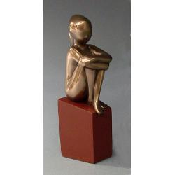 Statueta polystone inocenta 16cm sym04