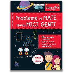 Un caiet de lucru pentru a te antrena în rezolvarea problemelor Problemele sunt de dificultate progresiv&259; &537;i te ajut&259; s&259; abordezi corect toate tipurile de probleme cu adun&259;risc&259;deri înmul&539;iri &537;i împ&259;r&539;iri - 80 de probleme cu rezolv&259;ri - Sfaturi &537;i trucuri - Enigme ca s&259; înve&539;i distrându-te La fiecare capitol este o problem&259; rezolvat&259; ca