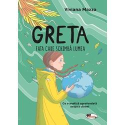 CarteaGRETA FATA CARE SCHIMB&258; LUMEAeste povestea unei adolescente &537;i lupta ei împotriva schimb&259;rilor climatice &537;i a crizei ecologice Include o trecere în revist&259; rapid&259; a prietenilor Gretei adolescen&539;i din alte &539;&259;ri care s-au al&259;turat mi&537;c&259;rii climatice ini&539;iate de Greta &537;i un studiu exhaustiv asupra schimb&259;rilor