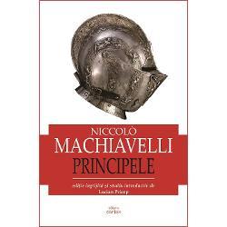 Cand Machiavelli este vazut drept fondatorul stiintei politice moderne sau creatorul autonomiei politicului trebuie sa se aiba in vedere acest termen in acceptiunea sa extinsa profesata teorematic in Akademia lui Platon De aceea reflectiile asupra puterii aflate in centrul de interes al Principelui modeleaza diviziunile sociale in acord cu oscilatiile diviziunii puterii si societatii civile Asta ne confirma ca momentul Machiavelli desemneaza nu numai epoca Renasterii ci si