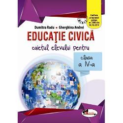 Educatie civica clasa a IV a caietul elevului RaduAndrei