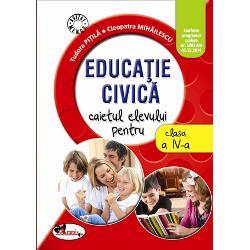 Educatie civica clasa a IV a caietul elevului PitilaMihailescu