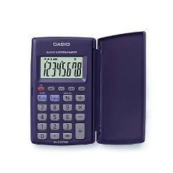 Calculator de buzunar Casio HL-820VER 8 digits cu etuiCalculator de buzunar prevazut cu capac din plastic pentru protectie si display mare de 8 digitsCaracteristici- Conversie euro- Calcule statistice- Memorie independenta- Calcule procentuale- Alimentare cu baterie- Dimensiuni 10 x 625 x 104 mm inchis 75 x 127 x 104 mm deschis- Greutate 45 gr