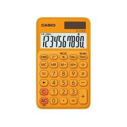 Calculator portabil Casio SL-310UC 10 digits Calculatorul este prevazut cu ecran LCD cu 10 digits iar tastele prezinta semnele de comanda a functiilorDate generale• Ecran LCD mare• Calcule statistice• Alimentare duala-solara si baterie• Carcasa plastic colorata• Taste tactile• Dimensiuni 118 x 70 x 84 mmFunctii• Calcularea impozitelor• Calcul procentaj