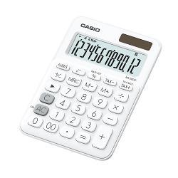 Calculator de birou Casio MS-20UC 12 digits Calculatorul are un design elegant ecran LCD cu 12 digits iar tastele prezinta semnele de comanda a functiilorCaracteristici- Ecran mare de 12 cifre cu semne de comanda a functiilor- Alimentare in doua moduri- Taste de plastic- Tasta rotunjirep