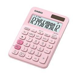 Calculator de birou Casio, 12 digits, roz MS-20UC-PK