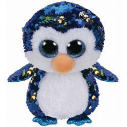 Jucarie de plus Beanie Boos Flippables PAYTON penguin/pinguin, 24cm, TY 36434