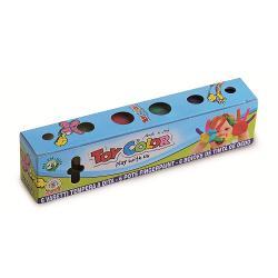 Tempera pentru degete Toy Color 25 ml 6 culoriNu to&539;i arti&537;tii folosesc pensule Cu acest produs nu este nevoie decat de pu&539;in&259; imagina&539;ie pentru a crea o oper&259; de art&259;Un produs special creat pentru micii pictori ce vor adora s&259; ating&259; textura fin&259; a temperei cu degeteleSe îndep&259;rteaz&259; cu u&537;urin&539;&259; de pe piele &537;i de pe cele mai multe tipuri de &539;es&259;turi doar cu